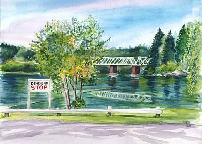 Painting - Ottawa River  by Clara Sue Beym