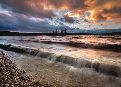 Ottawa Photograph - Ottawa River Sunset by Cale Best
