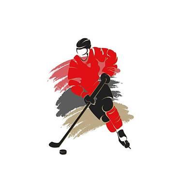 Ottawa Wall Art - Photograph - Ottawa Senators Player Shirt by Joe Hamilton
