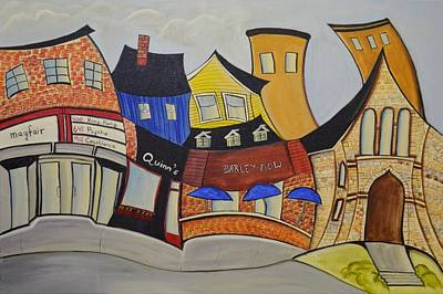 Quinn Painting - Ottawa South  by Heather Lovat-Fraser