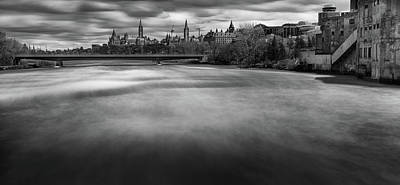 Photograph - Ottawa Spring Flood by M G Whittingham