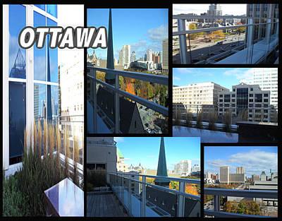 Digital Art - Ottawa,ontario,canada by Iris Gelbart