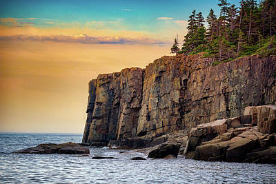 Photograph - Otter Cliff by Rick Berk