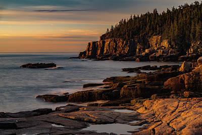 Photograph - Otter Cliffs II by Gary Lengyel