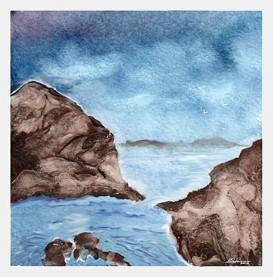 Painting - Otter Cove by Beverly Johnson