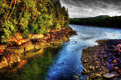 Photograph - Otter Cove Under The Bridge by Roger Passman