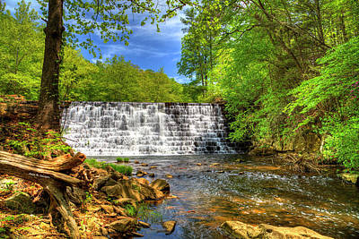 Photograph - Otter Creek Dam by Dale R Carlson