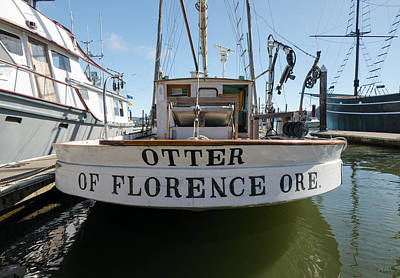 Photograph - Otter Of Florence by Margaret Pitcher