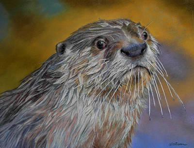 Otter Or Not Art Print