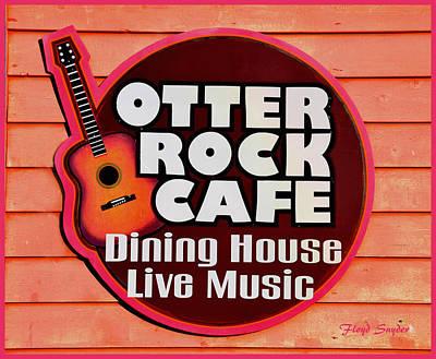 Otter Rock Cafe Morro Bay California Art Print