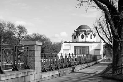 Cslanec Photograph - Otto Wagner Pavillon - Vienna by Christian Slanec