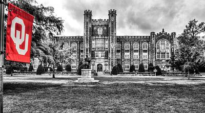 Photograph - Ou Evens Hall by JC Findley