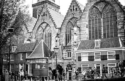 Photograph - Oude Kerk by John Rizzuto