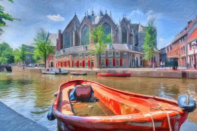 Photograph - Oude Kerk by Nadia Sanowar