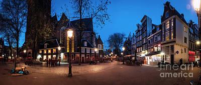 Redlight Photograph - Oudekerksplein 2 by Michael Harris