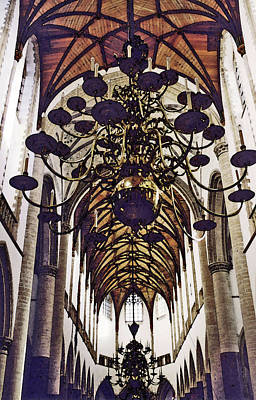 Photograph - Oudkirche by Mary Bedy