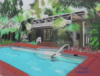 Painting - Our Back Yard In Orlando by Dana Schmidt