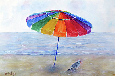 Painting - Our Beach by Loretta Luglio