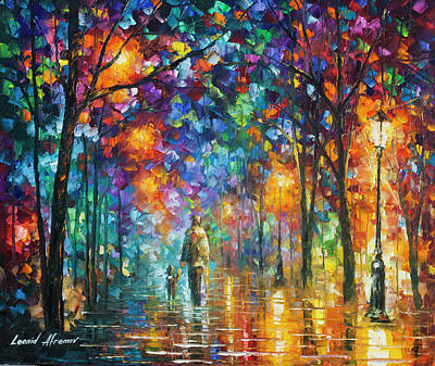 Painting - Our Best Friend  by Leonid Afremov