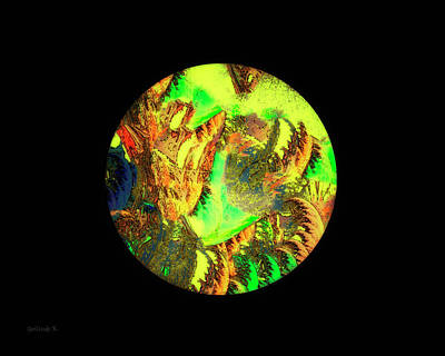 Digital Art - Our Colorful World by Gerlinde Keating - Galleria GK Keating Associates Inc