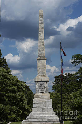 Confederate Monument Photograph - Our Confederate Dead by David Bearden