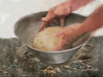 Mixed Media - Our Daily Bread by Colleen Taylor