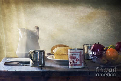 Our Daily Bread Art Print by Priscilla Burgers