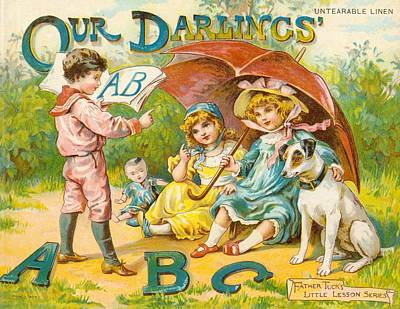 Our Darlings Abc Cover Original by Reynold Jay
