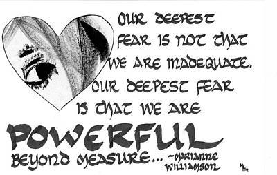 Our Deepest Fear Art Print