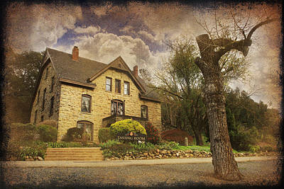 Stone Buildings Digital Art - Our Fairytale by Laurie Search