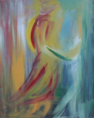 Painting - Our First Dance by Julie Lueders