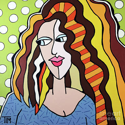 Mrs Kisses Art Print by Tim Ross