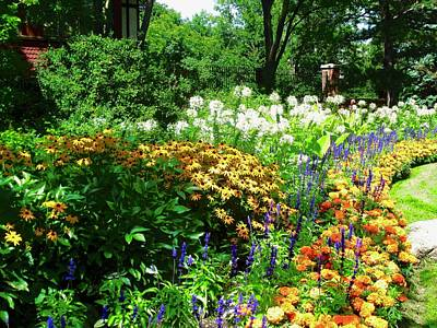 Photograph - Our Garden by Stephanie Moore