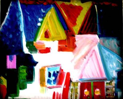Painting - Our House Is A Very Very Very Fine House by Laura  Grisham