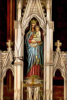 Photograph - Our Lady Help Of Christians by Miroslava Jurcik