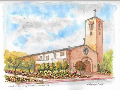 Our Lady Of Assumption Catholic Church, Claremont, California Original