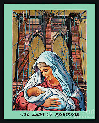 Painting - Our Lady Of Brooklyn by Lewis Williams OFS