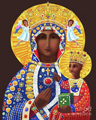 Painting - Our Lady Of Czestochowa - Mmcze by Br Mickey McGrath OSFS