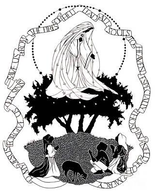Fatima Painting - Our Lady Of Fatima - Dpolf by Dan Paulos