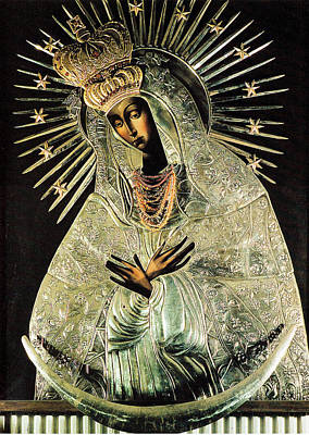 Our Lady Of Gate Of Dawn Art Print