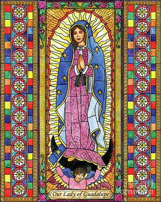 Painting - Our Lady Of Guadalupe by Brenda Nippert