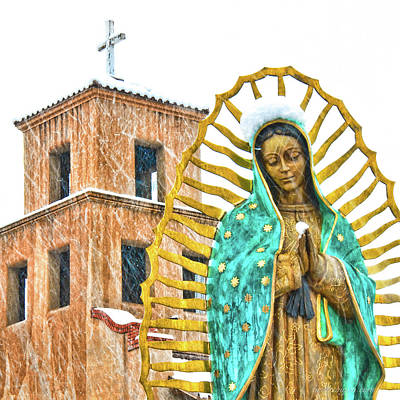 Photograph - Our Lady Of Guadalupe by Britt Runyon