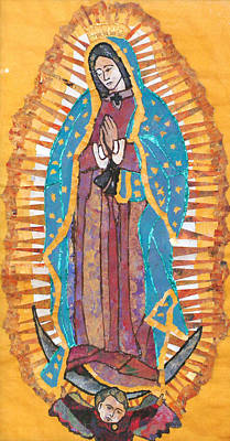 Our Lady Of Guadalupe Original by Carol Cole