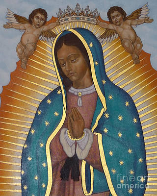 Painting - Our Lady Of Guadalupe Crowned - Lwlgc by Lewis Williams OFS