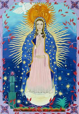 Our Lady Of Guadalupe Original by David Von Braun