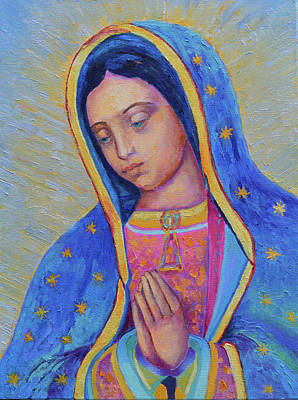 Our Lady Of Guadalupe Paintings Fine Art America