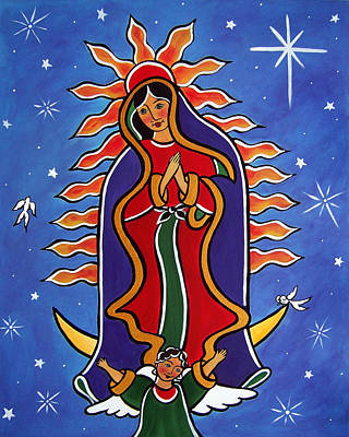 Painting - Our Lady Of Guadalupe by Jan Oliver-Schultz