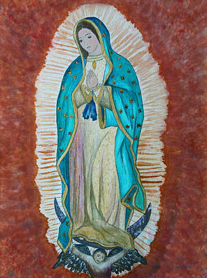 Our Lady Of Guadalupe Painting - Our Lady Of Guadalupe by Kerri Ligatich