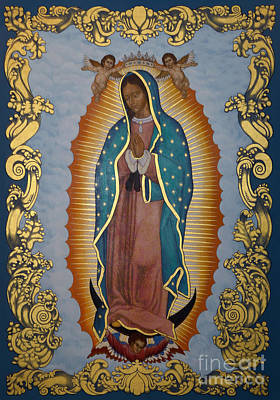 Our Lady Of Guadalupe - Lwlgl Art Print