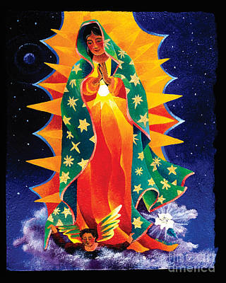 Painting - Our Lady Of Guadalupe - Mmgua by Br Mickey McGrath OSFS